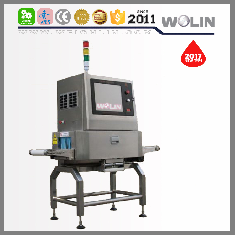 NEW developed X-Ray machine food packaging line system no-good materail inspecting machine