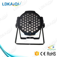 Hot sale the body of aluminum alloy for 54 1w mini led par can 54 light