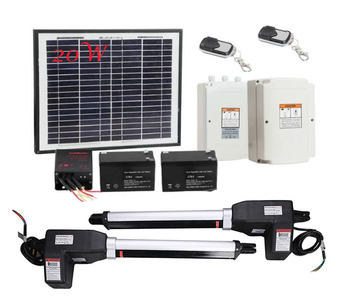High Quality Metal Solar Power LM902 Automatic Swing Arm Gate Opener 24VDC With TUV/CE/EMC