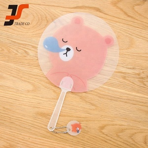 High quality portable custom plastic hand fan sticks