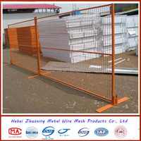 Canada style Mobile Fencing/Metal cheap fence/Temperary fence