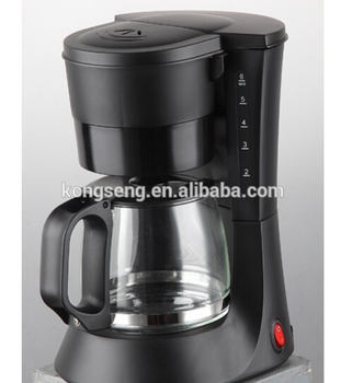 Cheap 0.6L Drip Coffee maker 4 cups for home use