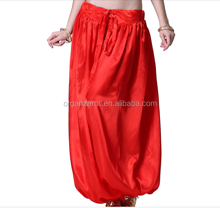 Wholesale Organza Lady Dancing Dress Trousers Fabric
