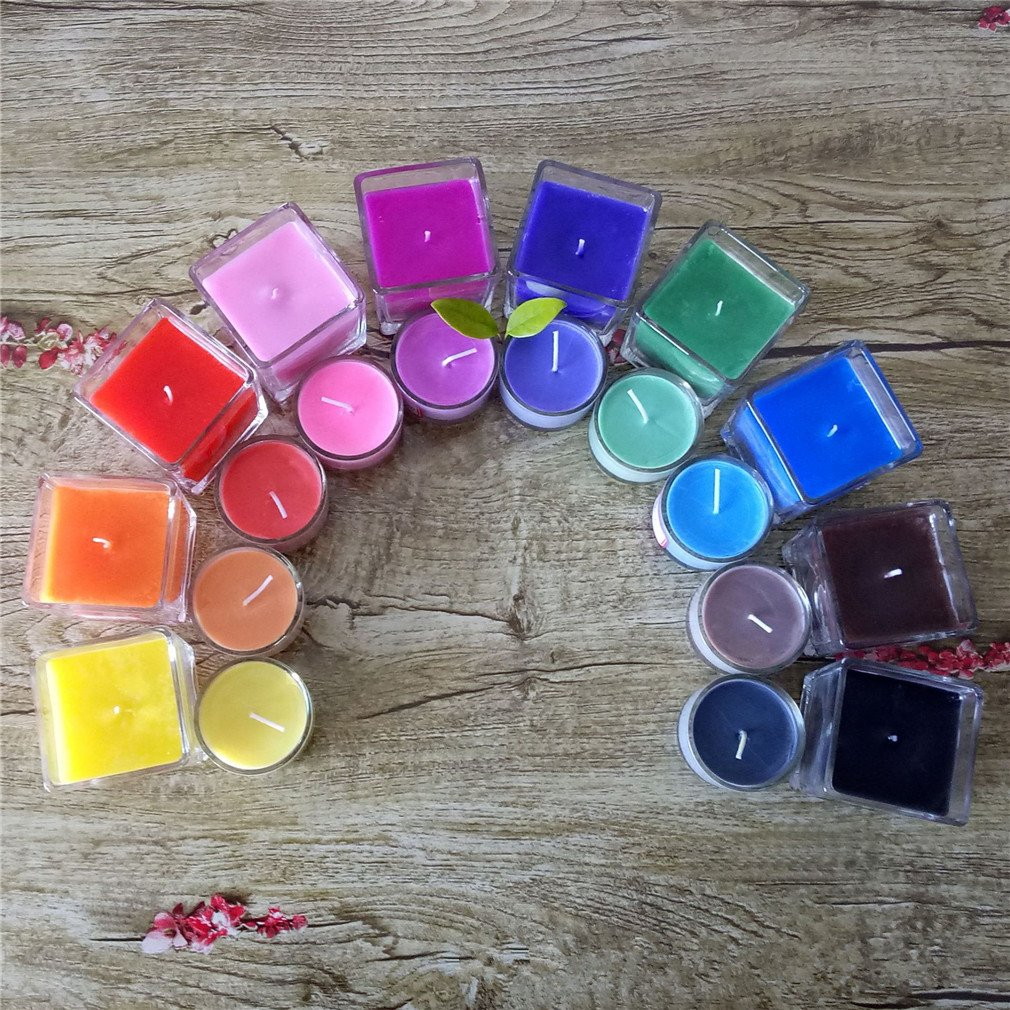 41fd480c50bb Get Quotations · 10 Dye Colors for Candle