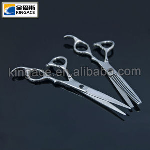Silver Color 440C Stainless Steel Hair Scissors Korea