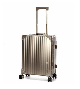 luggage aluminum metal suitcase rimowa luggage aluminum aluminum suitcase travel 20 inch