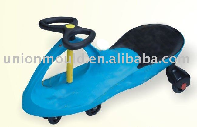 Swinging toy car mould kid's bike mould toys mould