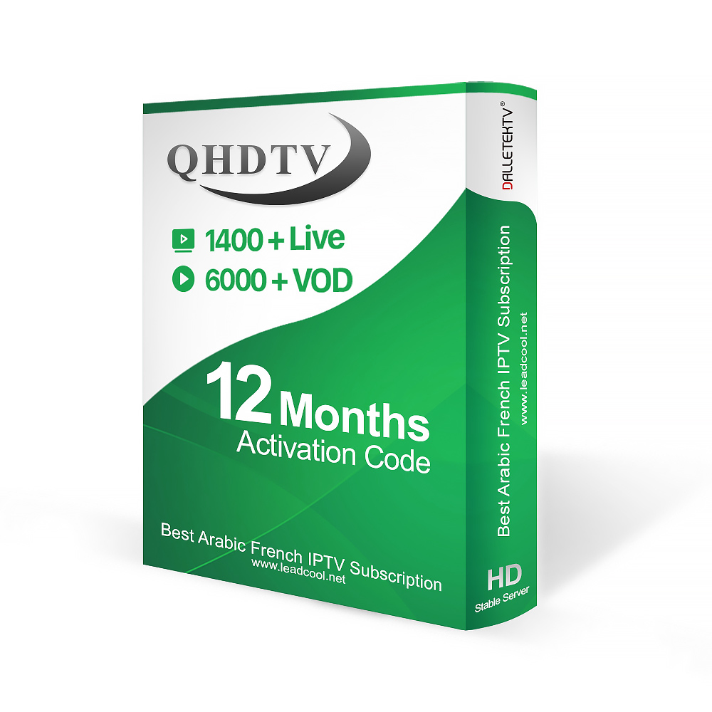 Alibaba.com / Wholesale IPTV Codes Provider QHDTV IUDTV IPTV Account Subscription Reseller Panel 1 Year with French Arabic and Other Channels