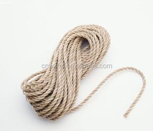 Cheap 3-strand cotton twisted cotton rope on sale