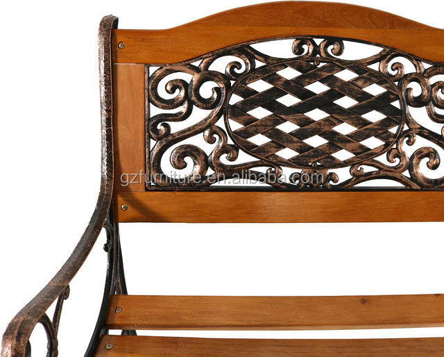 Vintage Ornate Cast Iron Garden Park Bench Ends Legs And