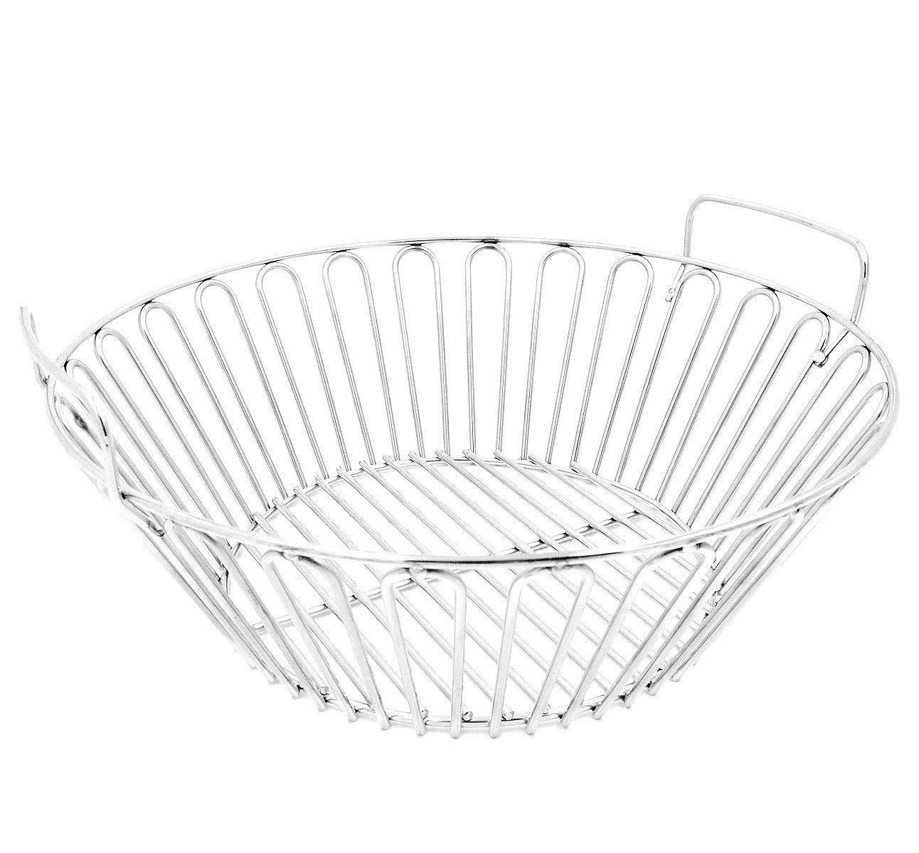 7daacdb5c7ce6 Get Quotations · RunTo 13.5 inch Charcoal Ash Basket Fits for Large Big  Green Egg Grill, Kamado Joe