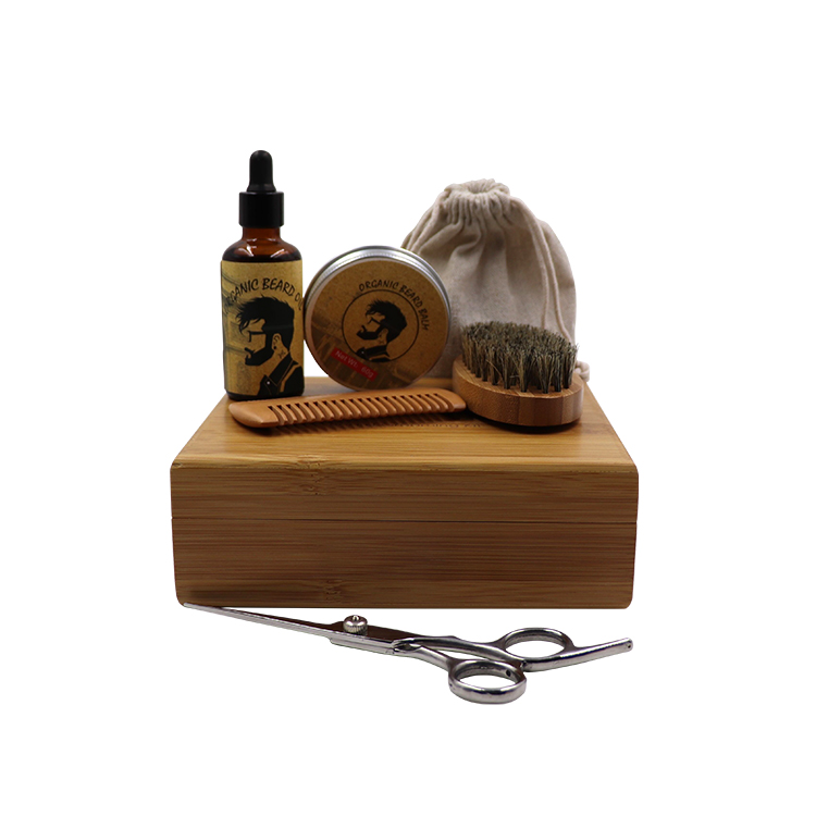 Amazon top seller 2019 beard kit beard grooming kit beard oil for Men mustache care