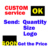 Custom Polyester Satin Ribbon Tape For Clothing Label With your own Logo
