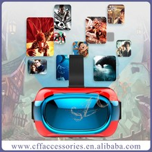 Connect to Wifi VR Box 3D Virtual Reality Glasses Support 3D Movie/Games/Video/TF card/bluetooth All In One 3D VR Box