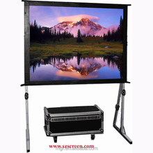 4:3 150' Fast fold screen,outdoor projection screen,easy fold screen