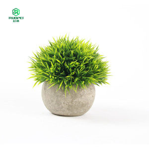 RuoPei Brand rural style landscaping bonsai tree ball plants for home decor livingroom