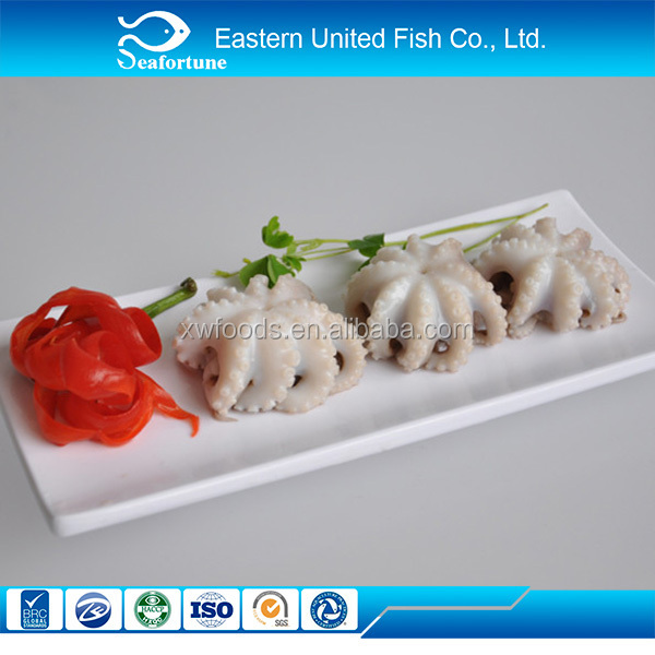 china seafood IQF sushi food seasoned baby octopus manufacture