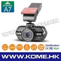 radar detector car dashcam with WDR function from alibaba China