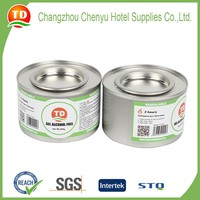 Small volume chafing fuel, 80g gel fuel