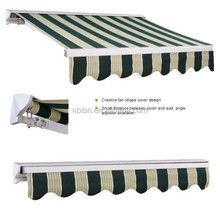 sun shade parasol aluminium frame waterproof canvas door awning