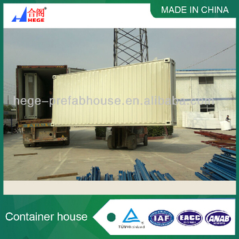 HEGE flat pack Container Shop
