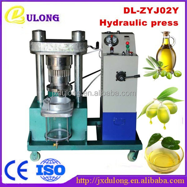 Manufacturer coconut/hydraulic olive oil press machine for sale DL-ZYJ02Y