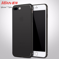Free sample high quality shockproof soft TPU ultra thin 0.6 mm custom cell phone case for apple iphone 7 7plus