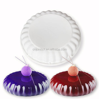 Bakeware & Tools Baking Pastry Mould Irregular Cloud Design Silicone Cake Mold