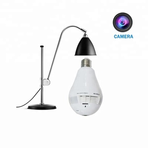 CCTV HD Panoramic Bulb Light 1080P Video Security Secret Lamp Hidden Camera