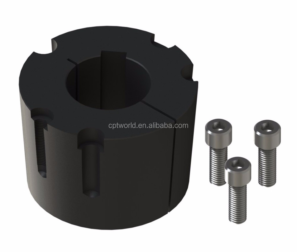 Heavy duty cast v-ribbed belt pulley for SPZ belt