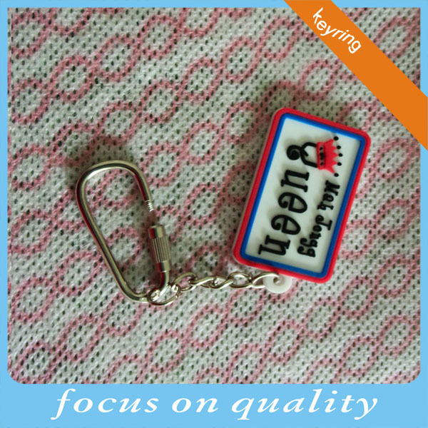 recessed design lock key holder durable make lock custom rubber keychains with metal lock maker