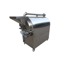 Flexible manufacturing Hot selling small nut roasting machine