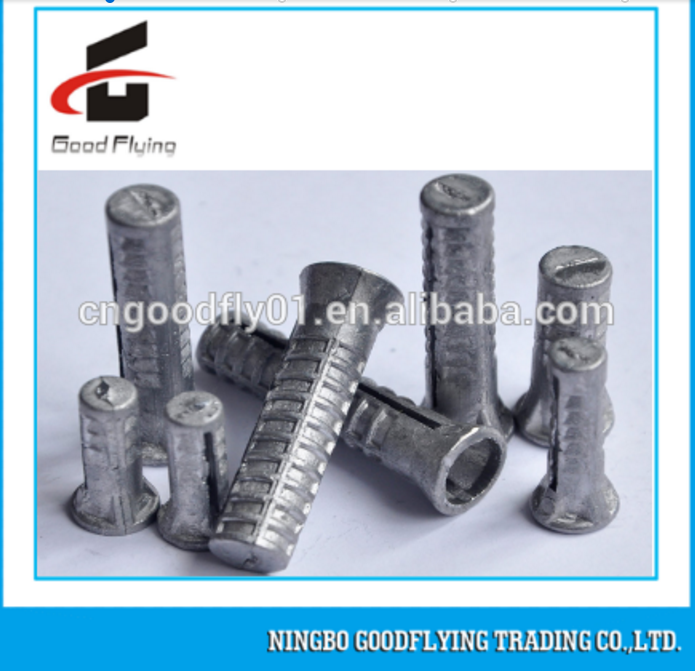 Standard lead wood screw hammer fixing anchor