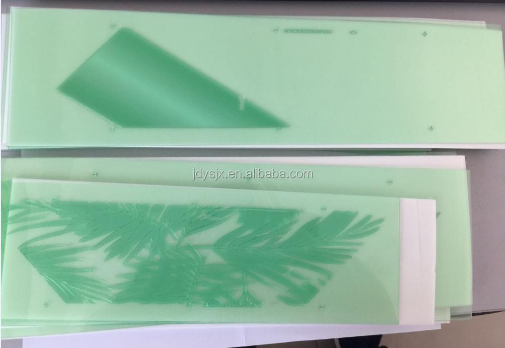 Cao Su Polyester In Ấn Tấm Làm Máy/Rửa Nước Flexo Sản Xuất Khối JT-FA3S