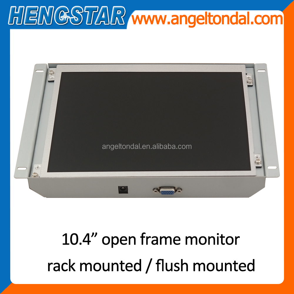VGA open frame lcd monitor with Optioanl touch screen