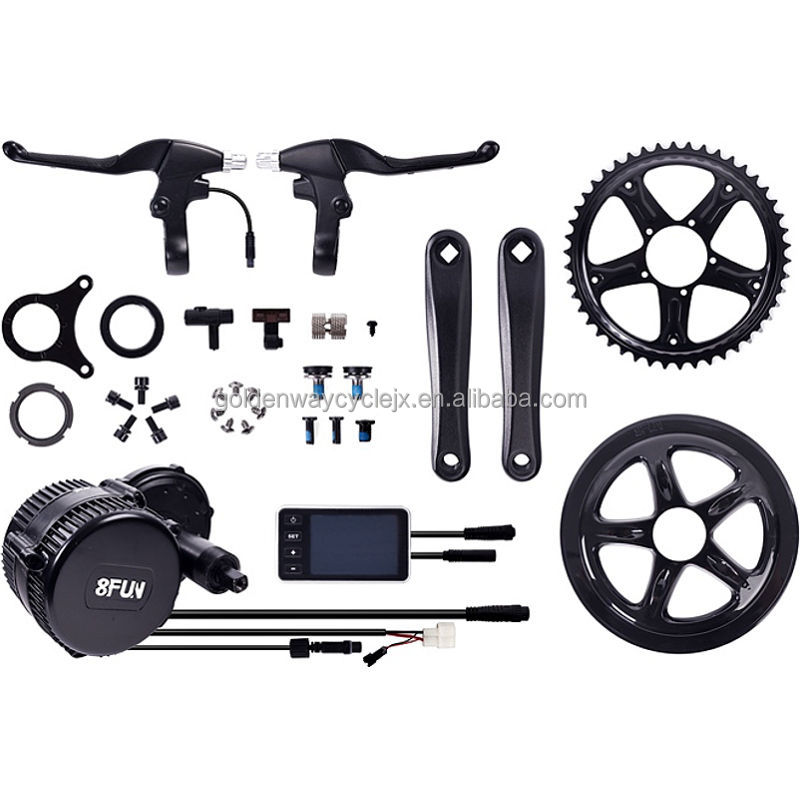 bafang 8fun e bike kits BBS 02 48v 750w mid drive motor kits