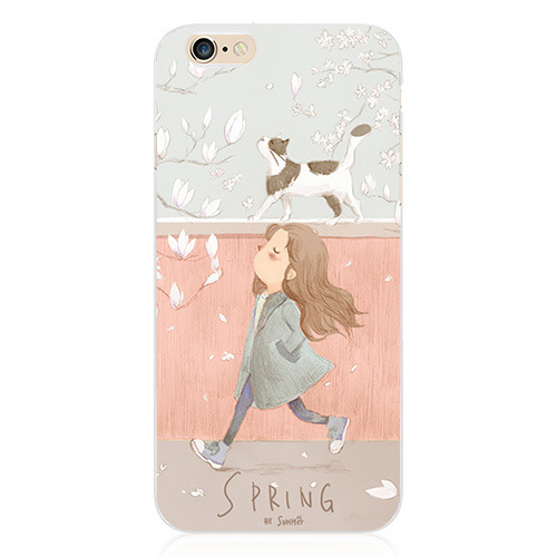 New Cute Cartoon Pattern Soft TPU Case For Apple iPhone 6 4.7 Inch Cover Phone Bag Protective Shell