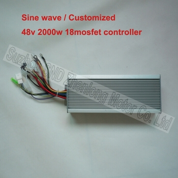 48V 2000W 18 mosfet motor brushless sinusoidal wave