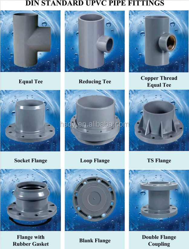 Pvc Pipes And Fittings For Water Supply
