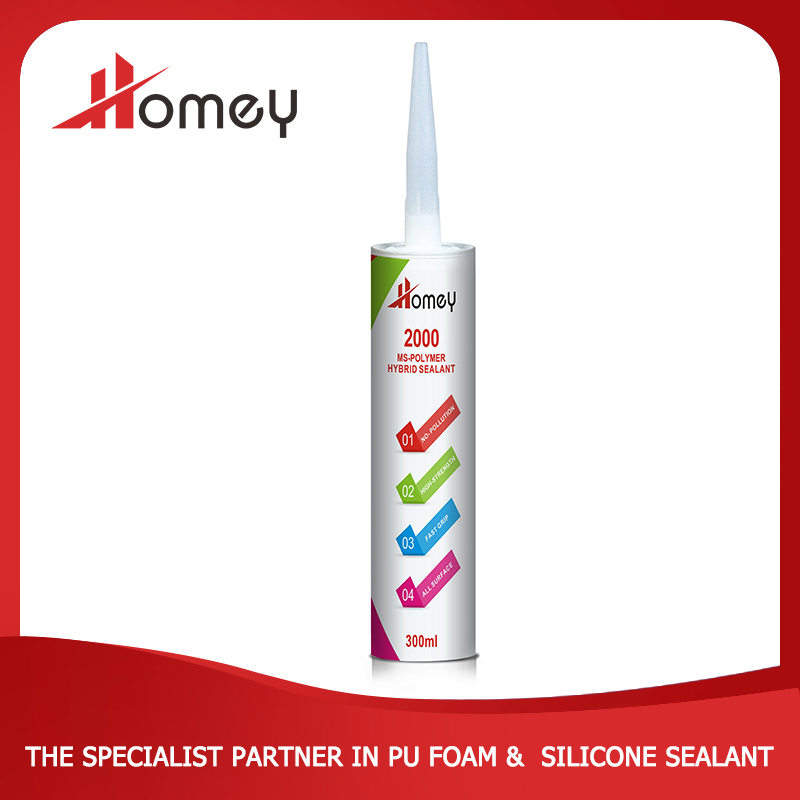 Homey 2000 best price excellent performance flexible copper joints sealant