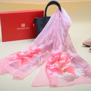 Fashion Floral Design Lady Many Choice Chiffon Scarf for sale