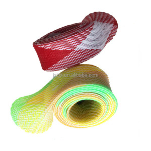 Flame Retardant high quality polyester pet nylon expandable braided sleeving