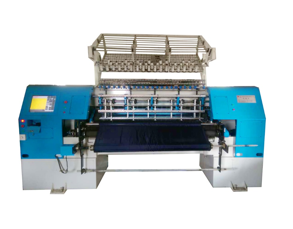 Voor bed cover shuttle quilten high speed multi naald quilten machine