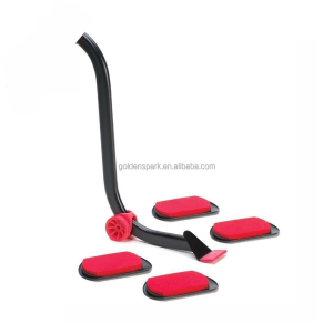 Smart-life Reusable Red Easy Furniture Mover Set With Furniture Lifter and Mover Sliders