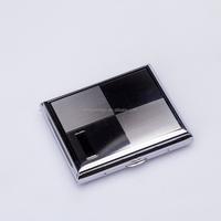 Best selling New Popular Waterproof silver metal branded custom cigarette box