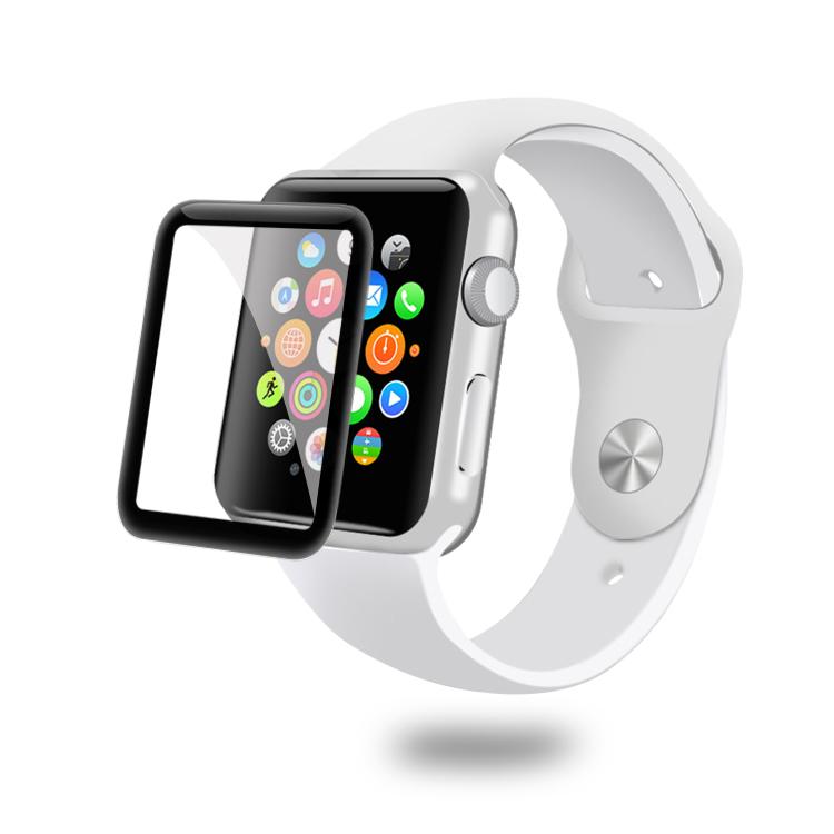 Für Apple Uhr 42 MM 3D Cover Gehärtetem Glas Displayschutzfolie Für Apple Uhr
