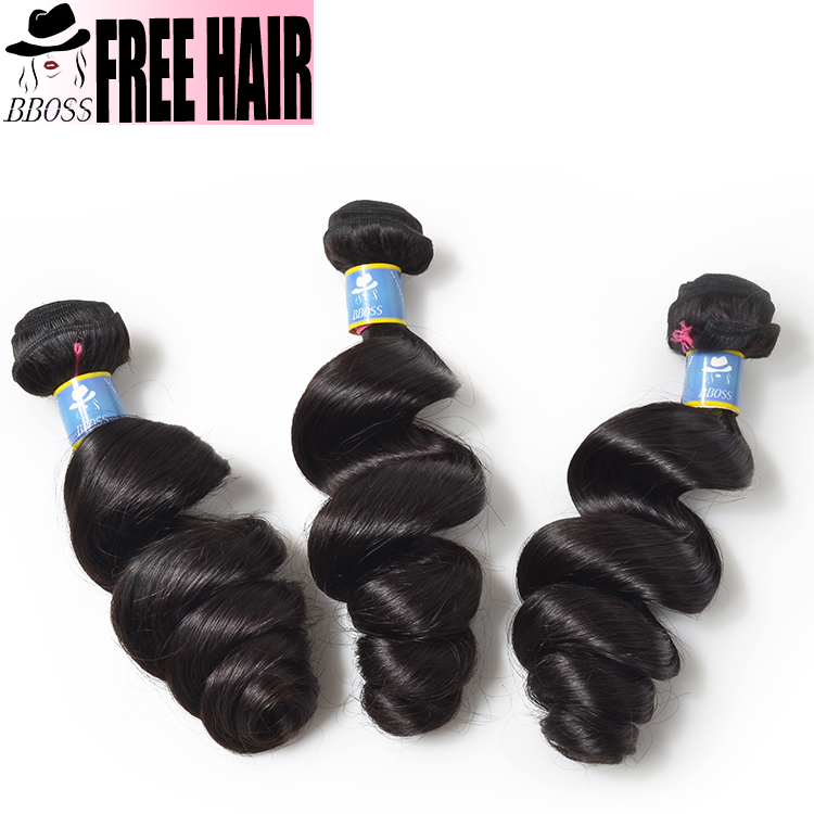 Excellent black pearl human hair distributors Raw Virgin platinum human hair weaving