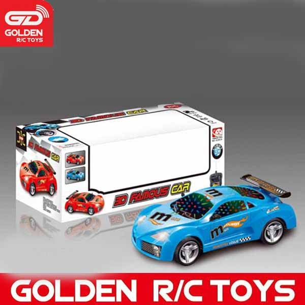 New product 2015 1/14 4-ch subaru rc car with light