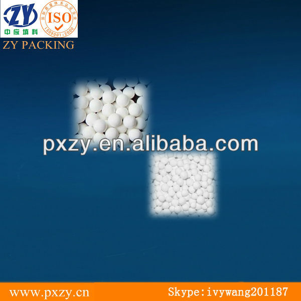 High density Activated Alumina balls ,catalytic carrier, purifying agent