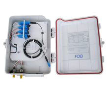 Outdoor waterproof 4 cores FTTH Optical Fiber Distribution termination box